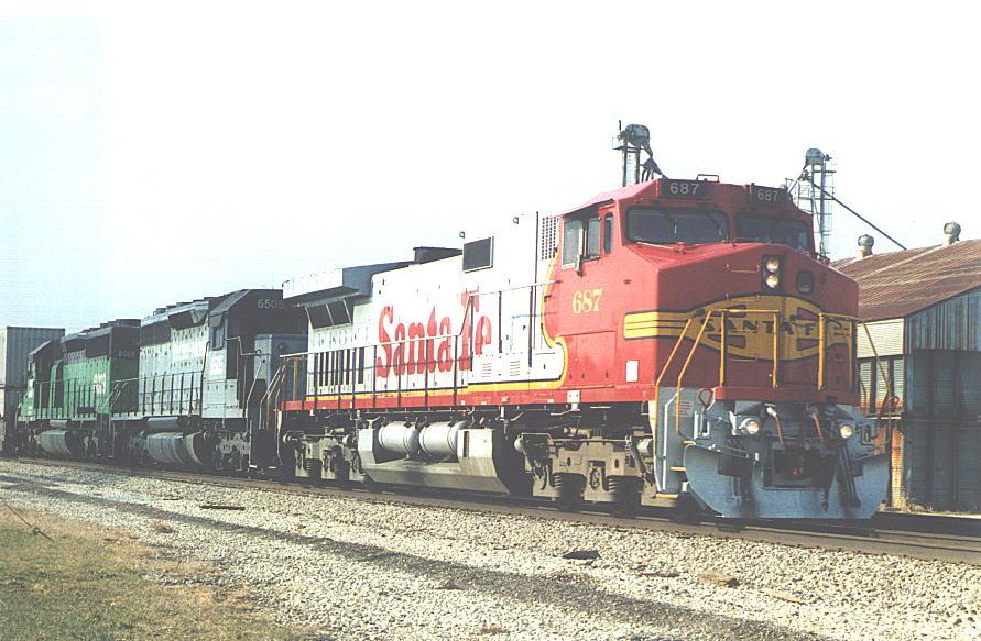 ATSF Dash 9-44CW Specifications