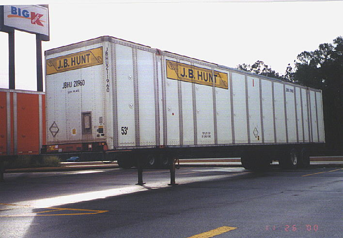 Shipping Container Trailer >> J.B. Hunt Trailer/Container Resource - Containers